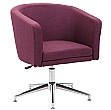 Lewis Fabric Swivel Chair