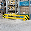 Black Bull Adjustable Racking End Protectors With Posts