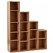 NEXT DAY Karbon Narrow Bookcases