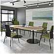 Sarca D-End Boardroom Table
