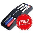 Bi-Office Contract Whiteboards + FREE Pens & Eraser