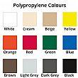 Polypropylene Shell Colours