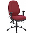 Deluxe Air Lumbar - Large Fully Loaded Posture Sprung Operator Chairs
