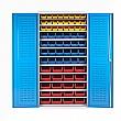 Redditek All Shelf Supported Bin Cabinet with Bins