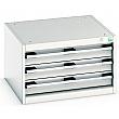 Bott Cubio Drawer Cabinets - 650mm Wide x 400mm High - Model C