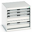 Bott Cubio Drawer Cabinets - 650mm Wide x 600mm High - Model E