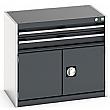 Bott Cubio Drawer Cabinets - 800mm Wide x 700mm High - Model D