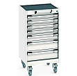 Bott Cubio Mobile Drawer Cabinets - 525mm Wide x 980mm High - Model D