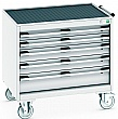 Bott Cubio Mobile Drawer Cabinets - 800mm Wide x 780mm High - Model A