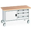 Bott Cubio Mobile Storage Benches - 1500W - Model H