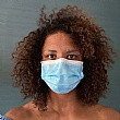 Disposable 3-Ply Face Masks - Packs of 10 or 50