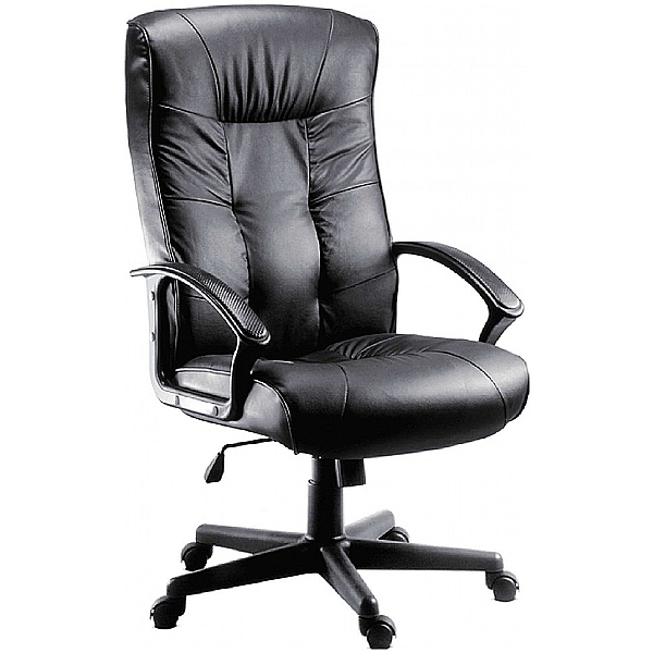 Gloucester Leather Faced Manager Chair