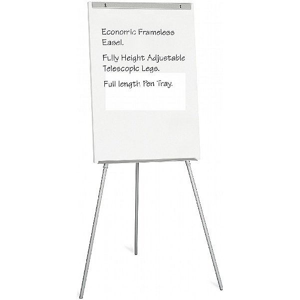 Bi-Office Frameless Flipchart Easel
