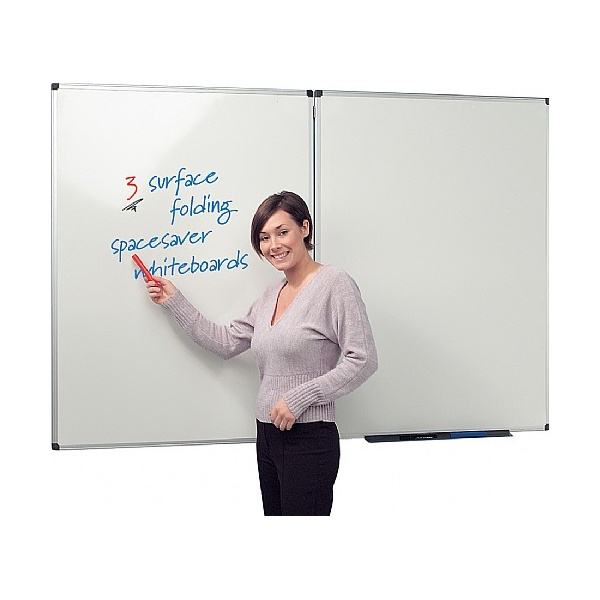 Write-On 3 Spacesaver Whiteboards