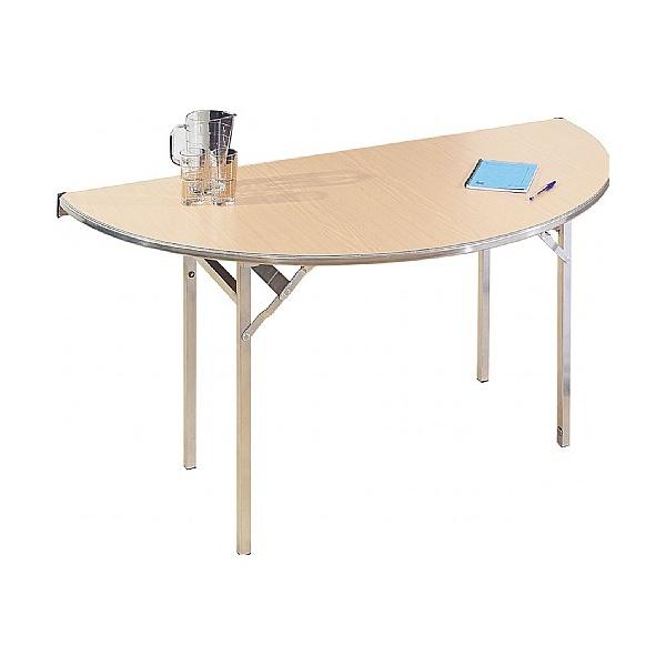 Semi-Circular Aluminium Folding Table