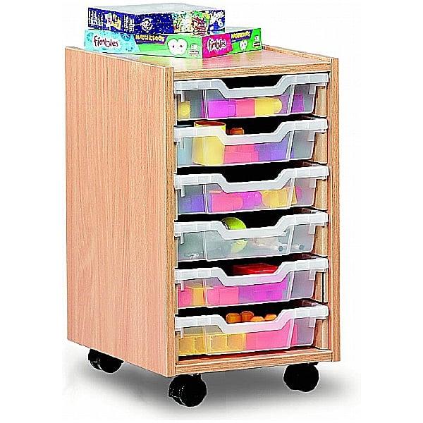 6 Tray Shallow Storage
