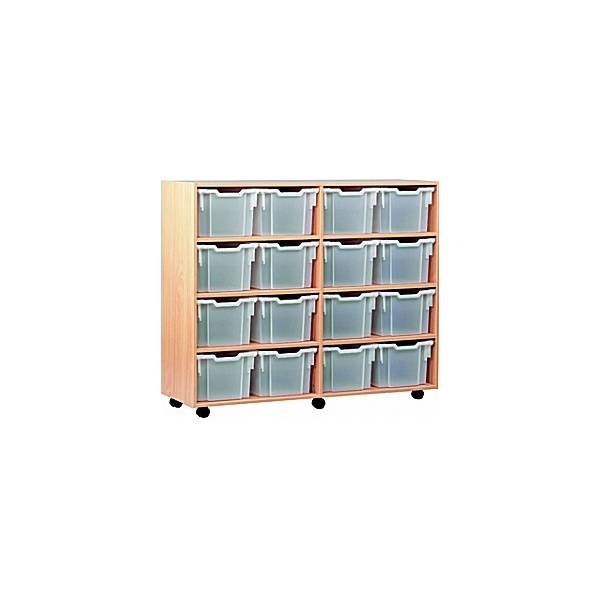 16 Tray Extra Deep Mobile Storage