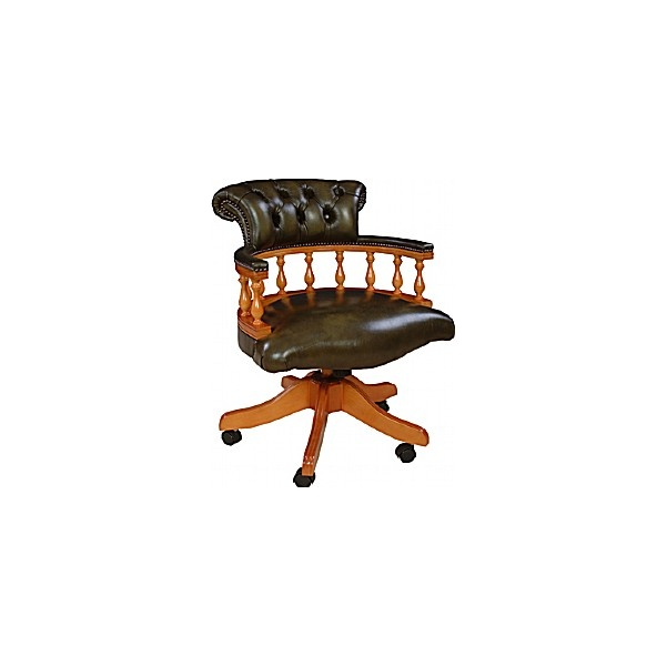Antique Replica Captains Chair