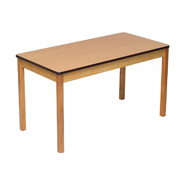 Natural Rectangular Classroom Tables