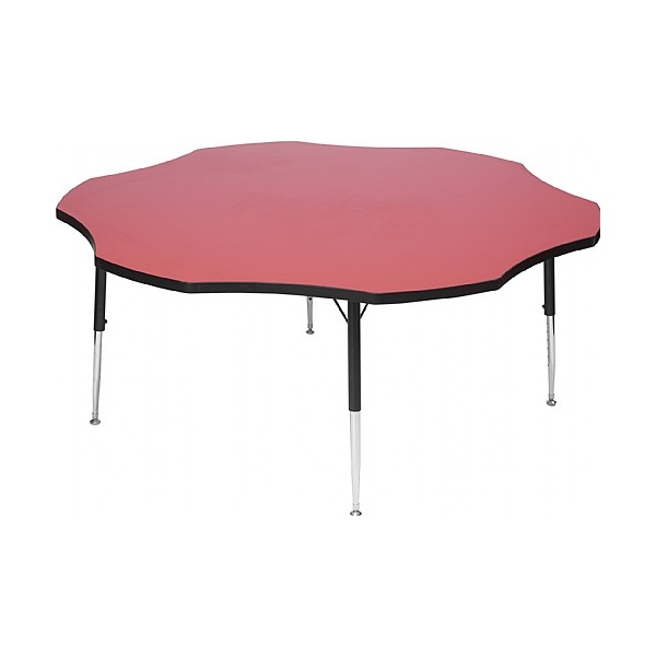 Adjustable Height Flower Top Table