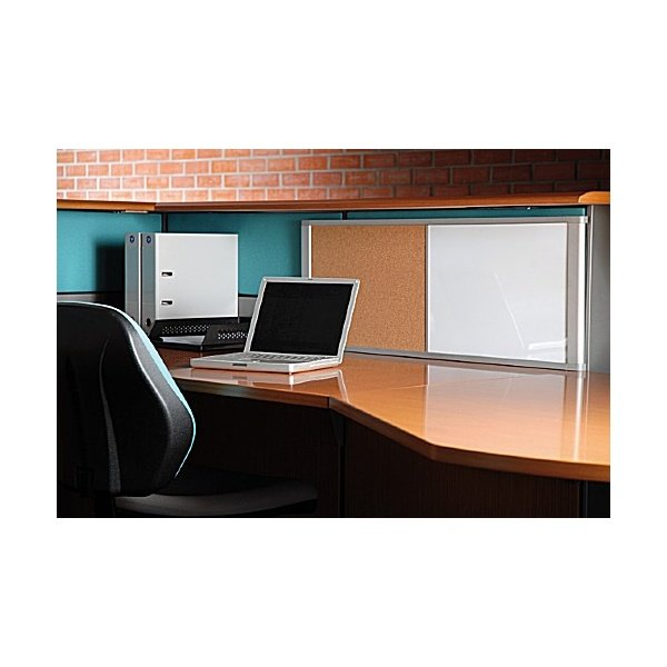 Bi-Office Desktop Combi Cork / Magnetic Whiteboard