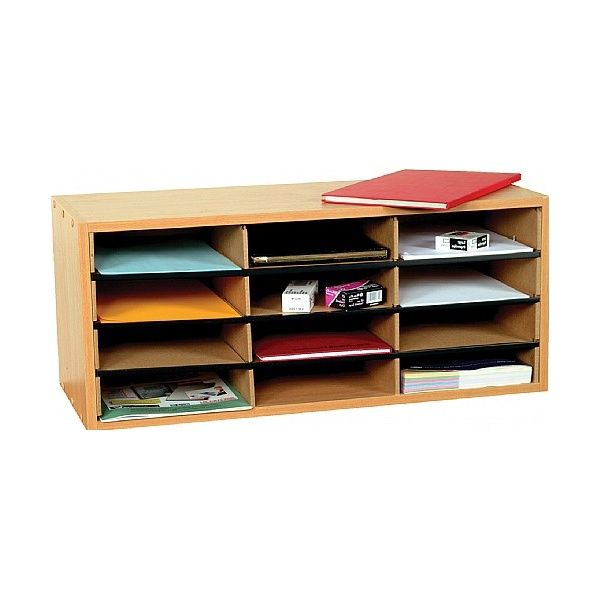 12 Section Literature Sorter Unit