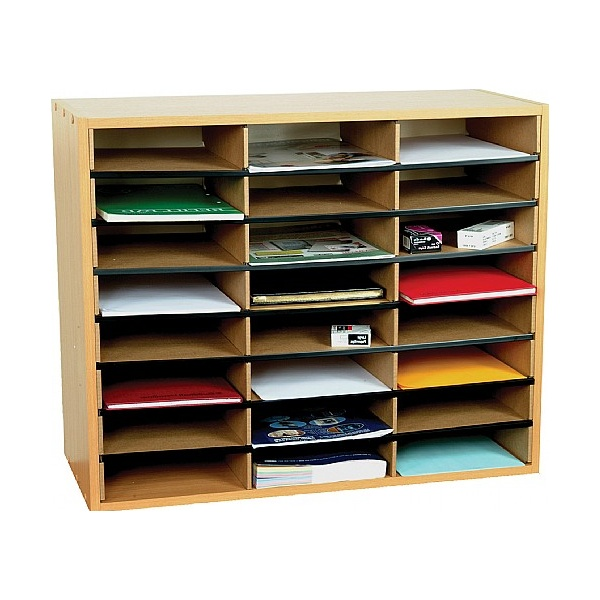 24 Section Literature Sorter Unit