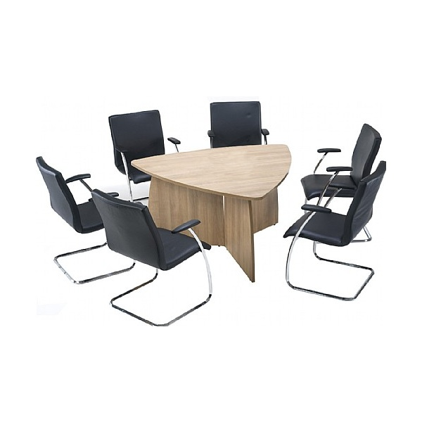 Trilogy Triangular Panel End Boardroom Tables