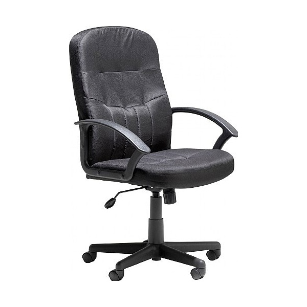 Melrose Leather Faced Manager Chair