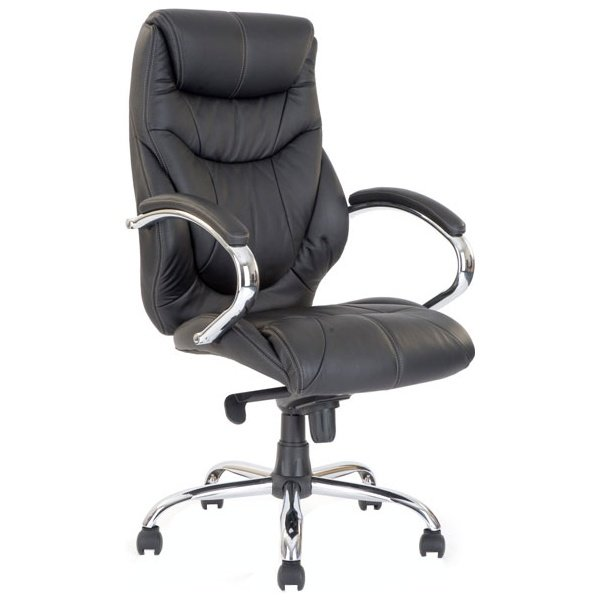 Geneva Leather Faced Manager Chair