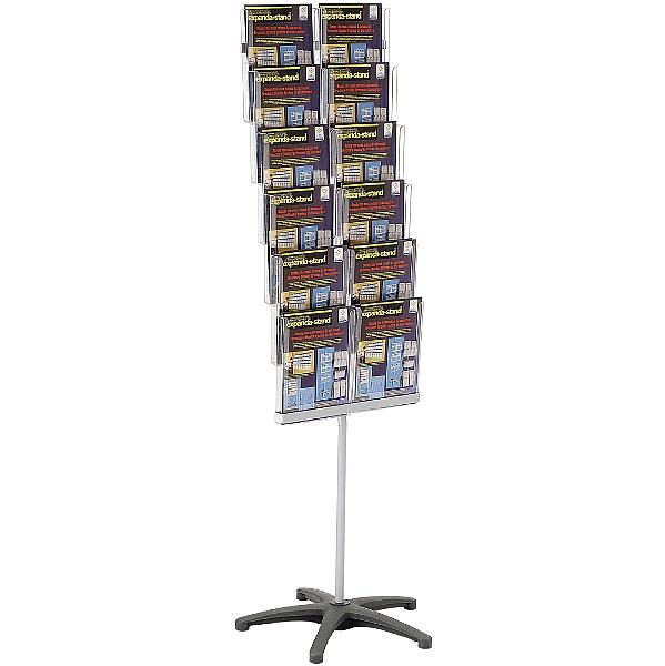Freestanding Literature Dispenser 12 x A4 Pockets