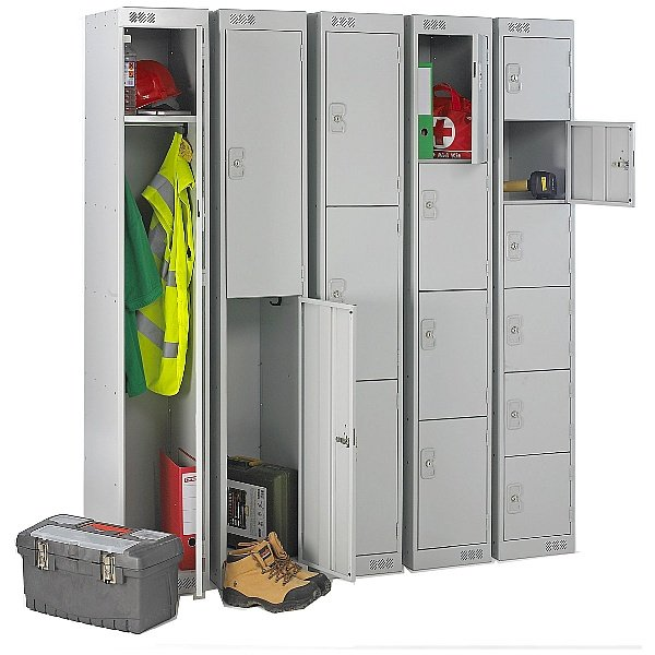 Contract Metric Lockers With BioCote