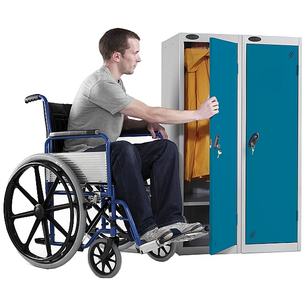 Disability Locker With Active Coat