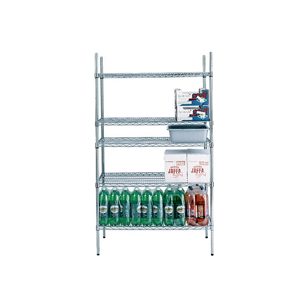 Chrome Plated Wire Shelving (Dry Areas)