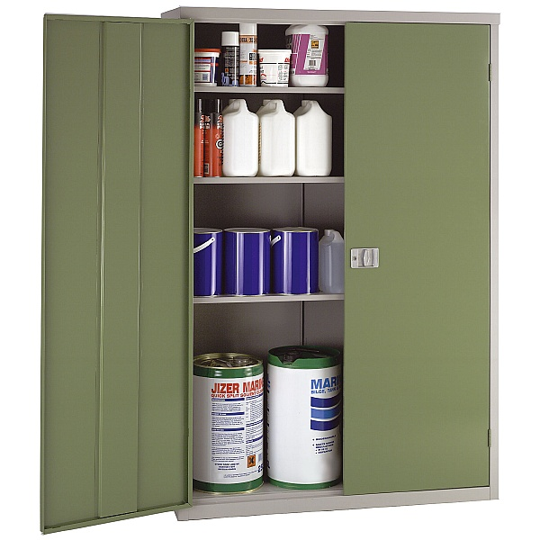 Large Volume Cupboards With Biocote