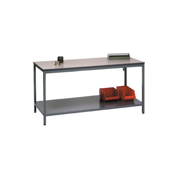 Basic Square Tube Workbenches With Shelf