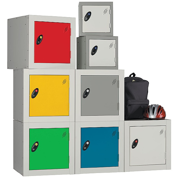 Cube Lockers With ActiveCoat