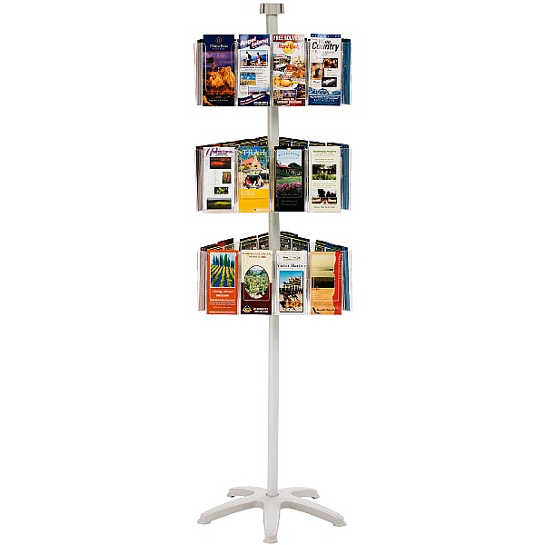 Freestanding Literature Carousel 36 x Third A4 Pockets