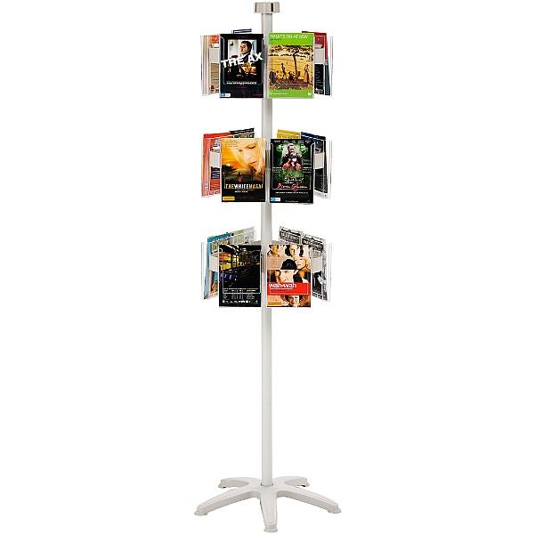 Freestanding Literature Carousel 18 x A5 Pockets