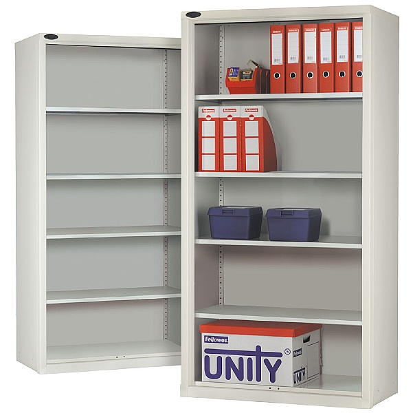 Open Fronted Commercial Cupboards