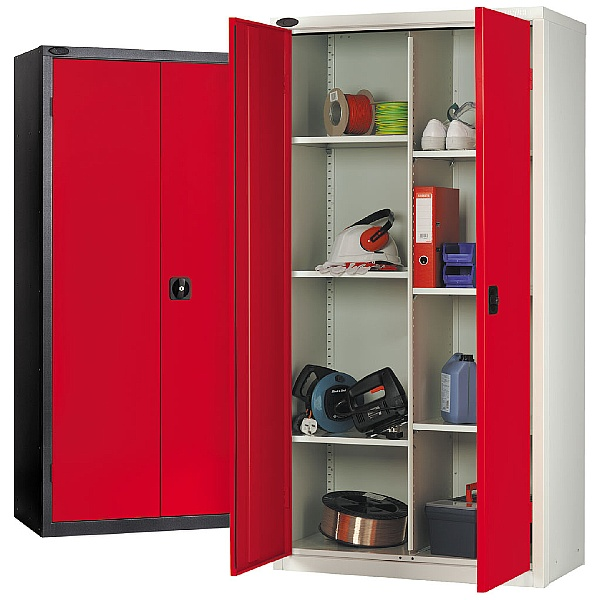 8 Compartment Cupboard With Active Coat