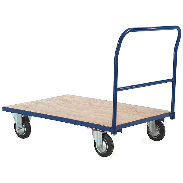 Single Bar End Platform Truck
