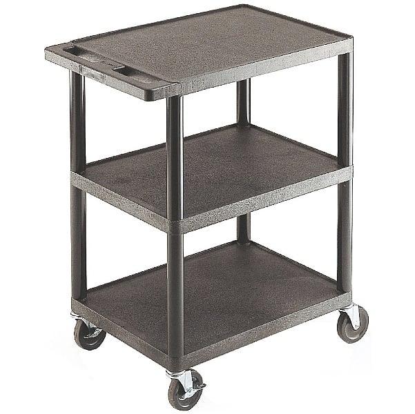 3 Flat Shelf Service Trolley