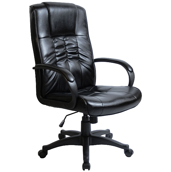 Turin Leather Faced Manager Chair