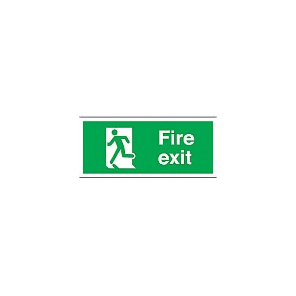 Fire Exit Running Man Left