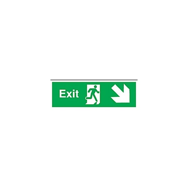 Exit Diagonal Right Down Arrow