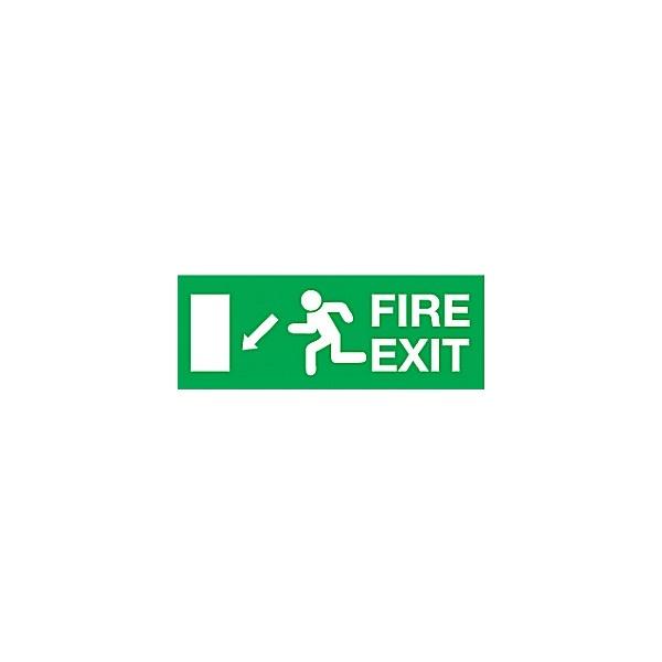 Fire Exit Diagonal Left