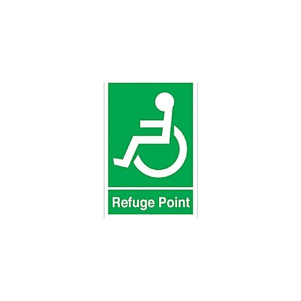 Refuge Signs Disabled