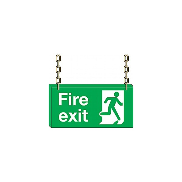 Doubled Sided Hanging Sign