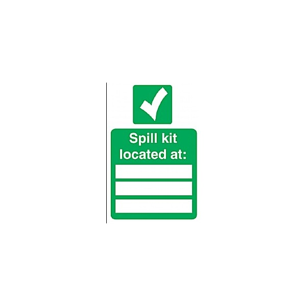 Spill Kit Located At: